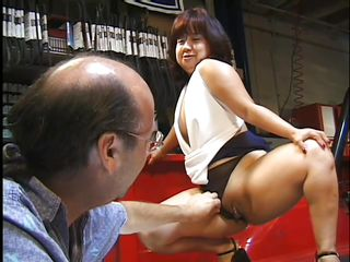 Порно пожилых волосатый жопу